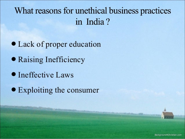 where to report unethical business practices