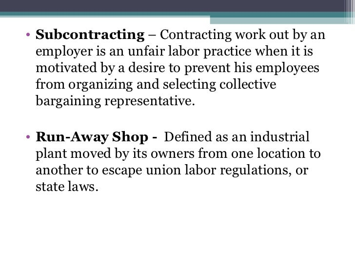 unfair labor practices of employers in the philippines