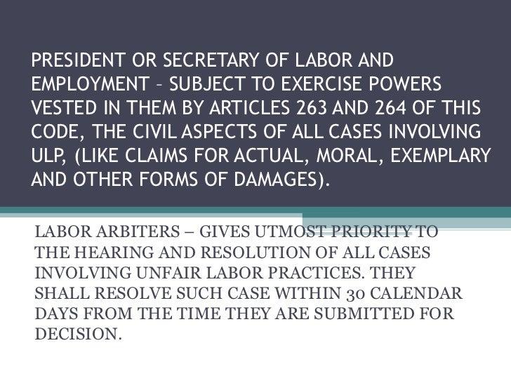 unfair labor practice cases
