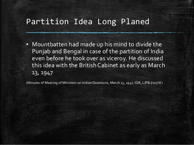 representation of partition of india in History is often considered to be a representation of facts that is concrete however, a glance through the text books of india and pakistan's history text books.