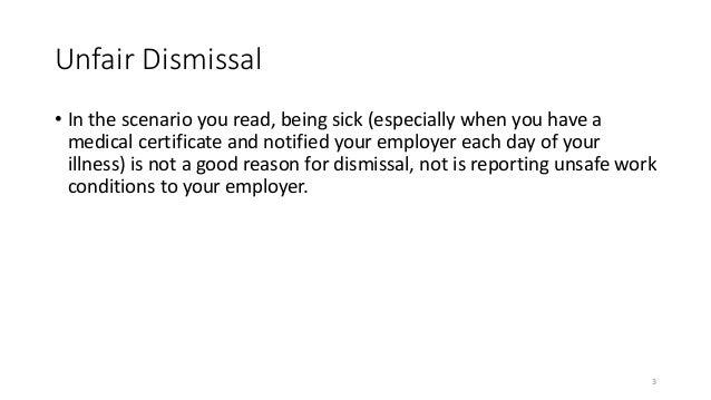 3. Unfair Dismissal ...