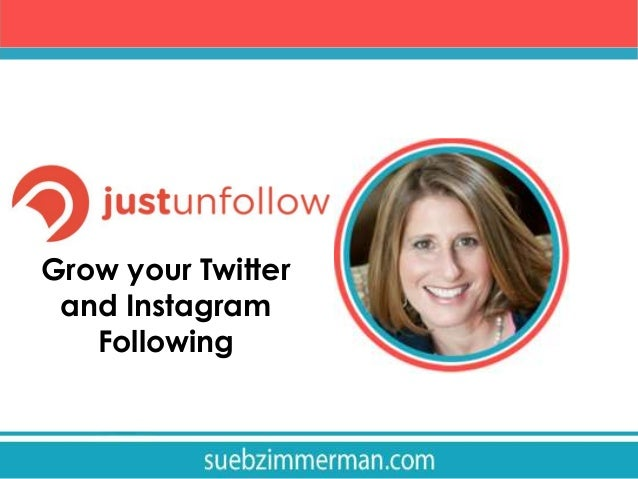 Grow your Twitter and Instagram Following