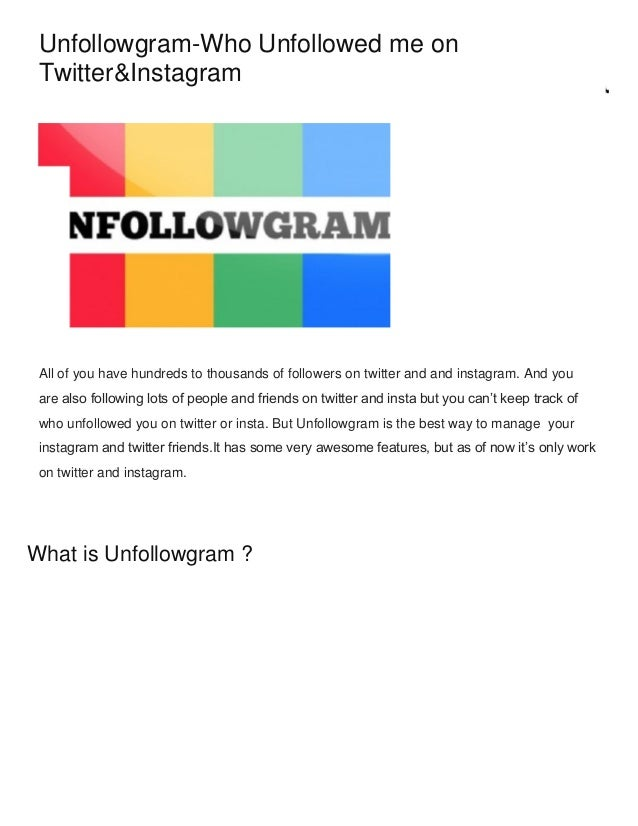 unfollowgram