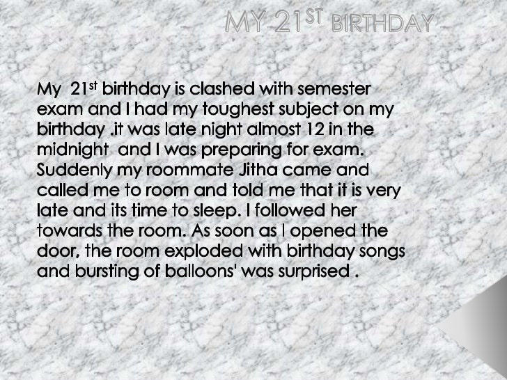 an unforgettable incident in my school life