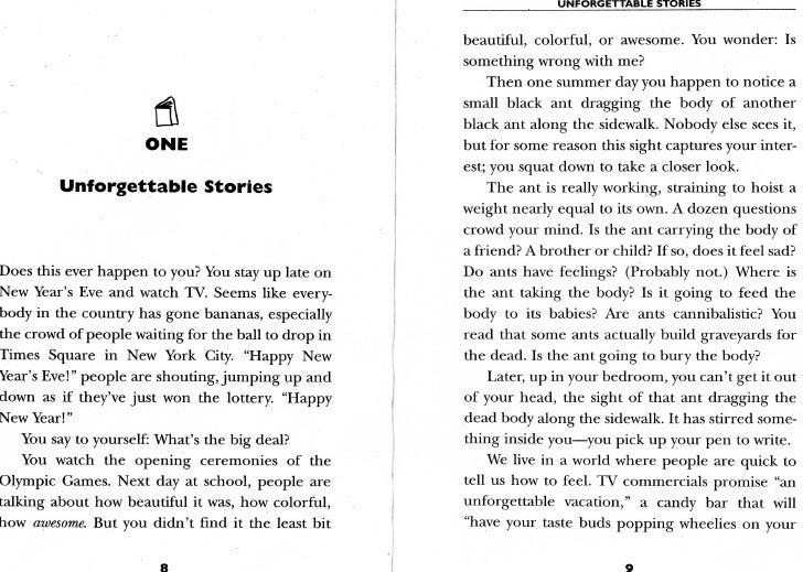 Unforgettable Stories by Ralph Fletcher