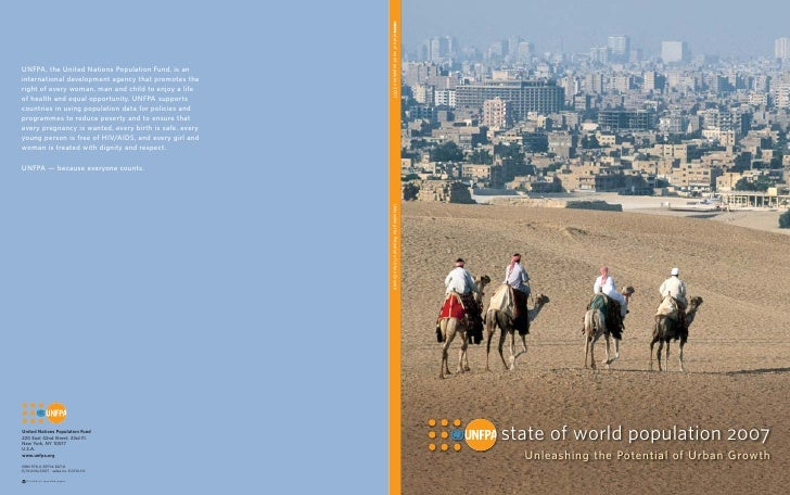 Unfpa state of the world report 2007