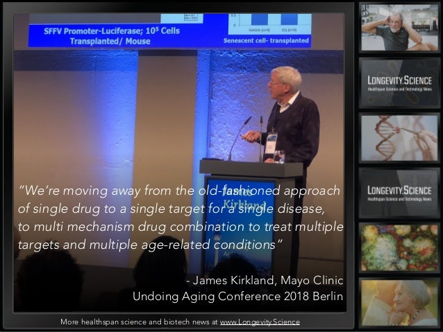 Ungoing Aging Confernce 2018- summary by Longevity Science News