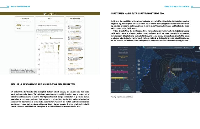 26 27TRACK 1 – INNOVATION DRIVER Building Fit-for-Purpose Tools and Methods QATALOG - A NEW ANALYSIS AND VISUALIZATION DAT...