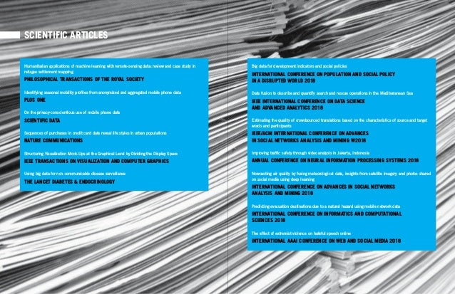 30 31TRACK 1 – INNOVATION DRIVER Scientific Articles SCIENTIFIC ARTICLES Big data for development indicators and social po...