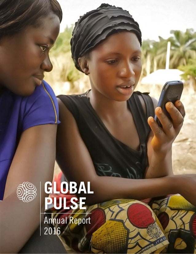 GLOBAL PULSE Annual Report 2016