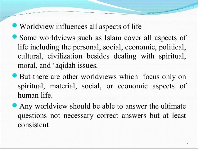 worldview questions
