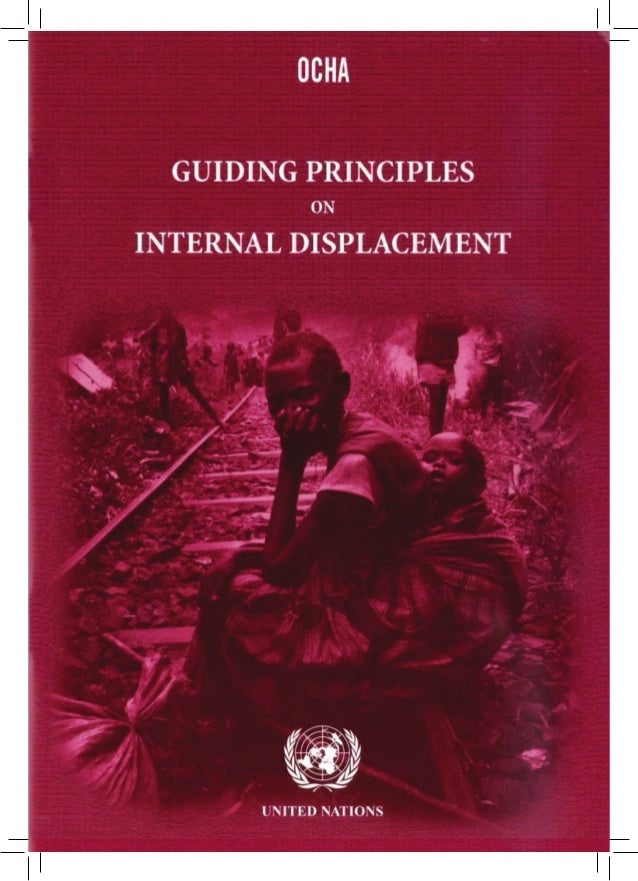 Foreword to the second edition of the Guiding Principles     by Under-Secretary-General for Humanitarian Affairs and      ...