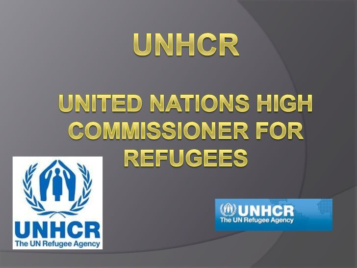 UNHCRunited nations high commissioner for refugees<br />