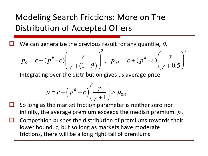 Search frictions and market power in negotiated price markets