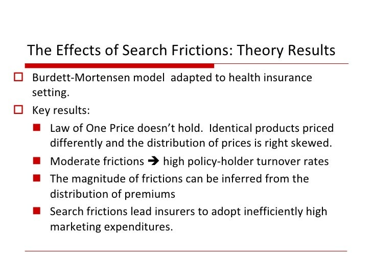 for their analysis of markets with search frictions | FT ...