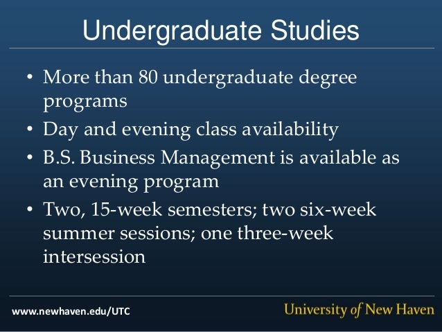 University Of New Haven United Technologies Partnership