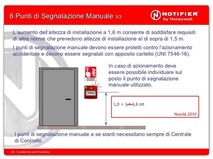 Uni 9795 2010 for Absoluta 16 manuale installazione