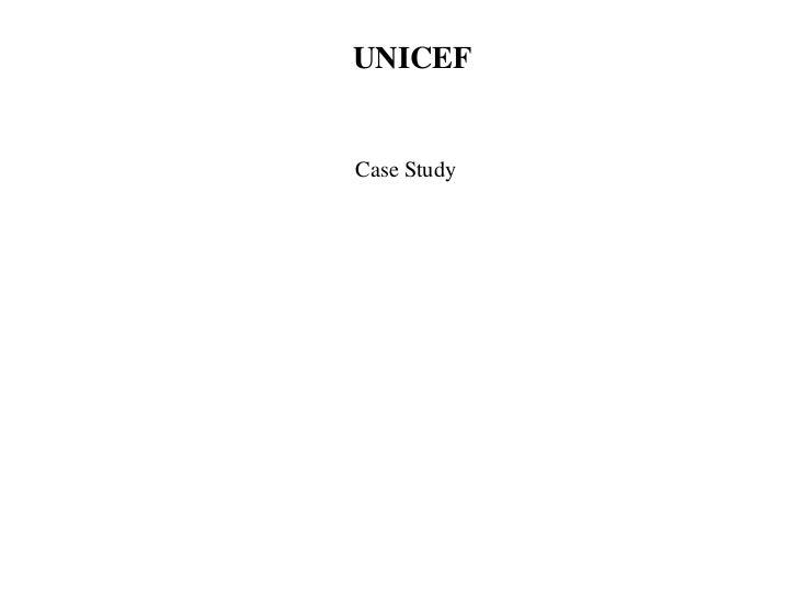 UNICEFCase Study