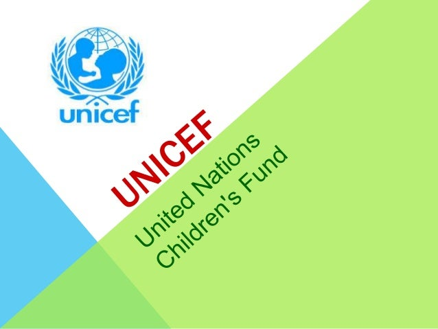 What is UNICEF? Unicef is a program of the United Nations Organization (ONU) based in New York and providing humanitarian...