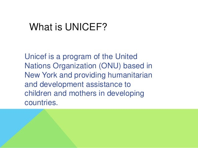 When was it created? UNICEF was created in 1946 to help europe children after the second mundial war. In 1953 UNICEF becam...
