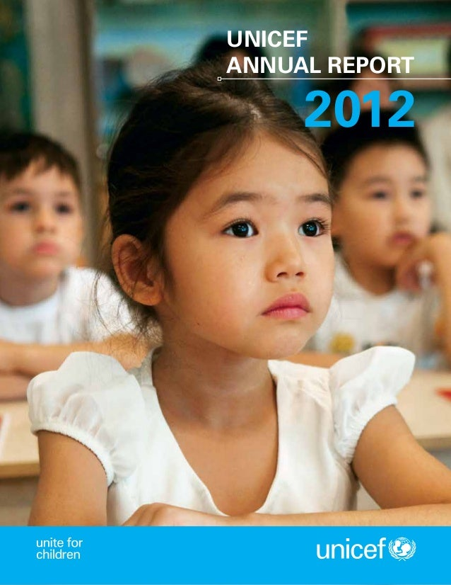 unicef annual report 2012