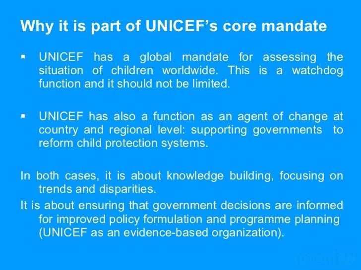 UNICEF - child protection indicators Slide 2