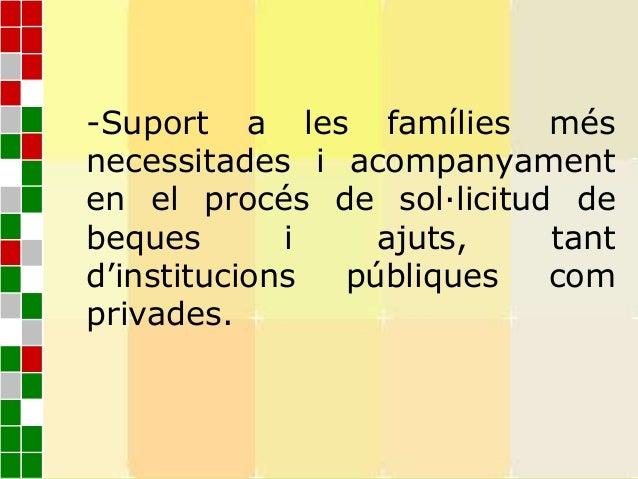 140 DELS 754 ALUMNES DE L'ESCOLA PRESENTENN.E.E (per discapacitat física, psíquica, i la granmajoria problemàtica socio-cu...