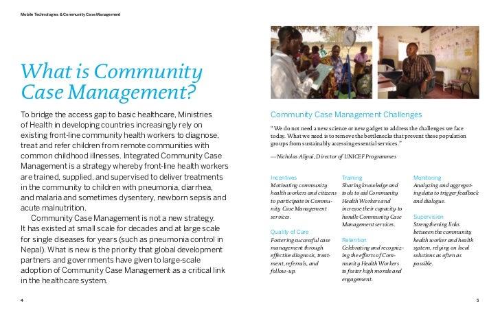 Mobile Technologies & Community Case ManagementWhat is CommunityCase Management?To bridge the access gap to basic healthca...