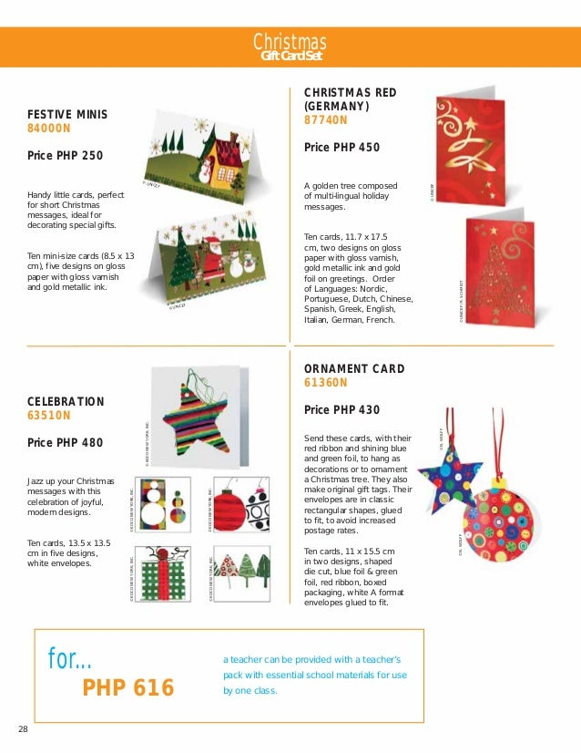 Unicef PH Consumer Cards & Gifts Catalog