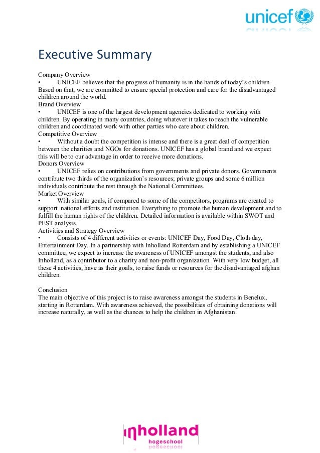 Essay about UNICEF