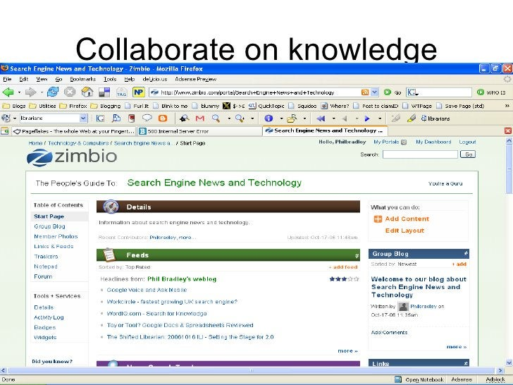 Collaborate on knowledge