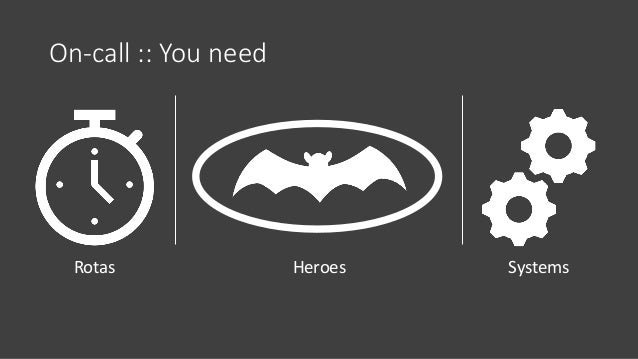 On-call :: You need Rotas Heroes Systems