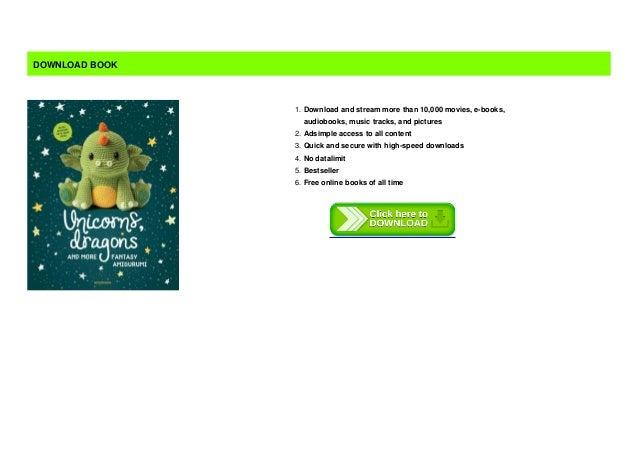 Amigurumipatterns.net - Book creations - Unicorns, Dragons and ... | 451x638