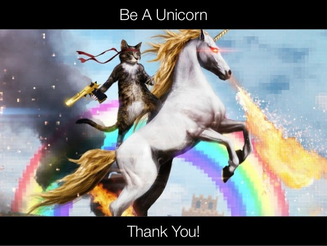 @usabilitycounts Be A Unicorn Thank You!