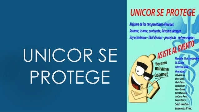 UNICOR SE PROTEGE