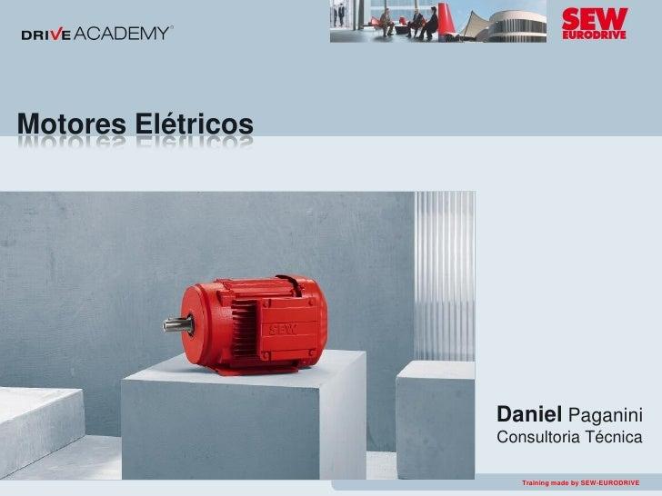 Motores Elétricos                                             Daniel Paganini                                         Cons...