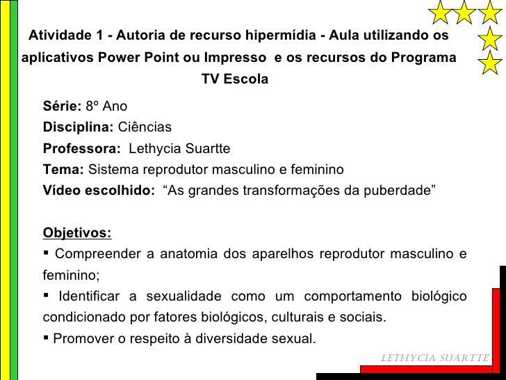 <ul><li>Série:  8º Ano </li></ul><ul><li>Disciplina:  Ciências </li></ul><ul><li>Professora:   Lethycia Suartte </li></ul>...