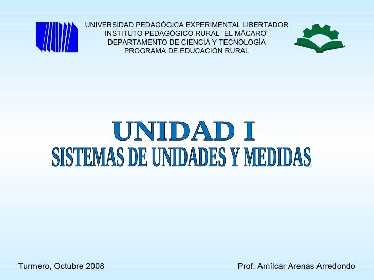 """UNIVERSIDAD PEDAGÓGICA EXPERIMENTAL LIBERTADOR                      INSTITUTO PEDAGÓGICO RURAL """"EL MÁCARO""""                ..."""