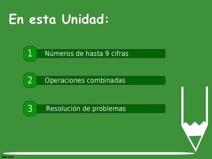 Unidad 01 numeros y operaciones Slide 3