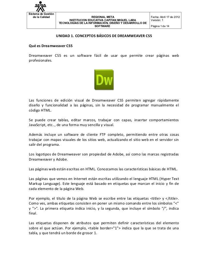 Sistema de Gestión   de la Calidad                          REGIONAL META                       Fecha: Abril 17 de 2012   ...