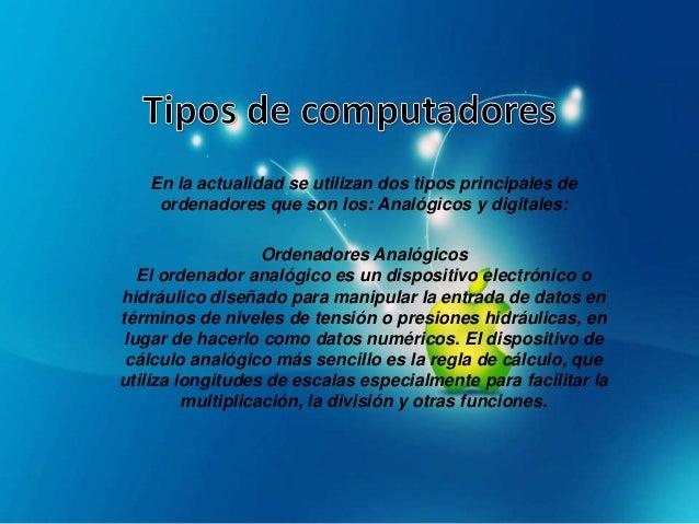 Un ordenador digital se basa en una operación: La cualdetermina si un conmutador está abierto o cerrado. Estoquiere decir ...