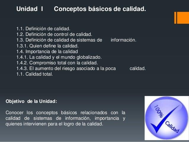 calidad de los sistemas de informacion Slide 3