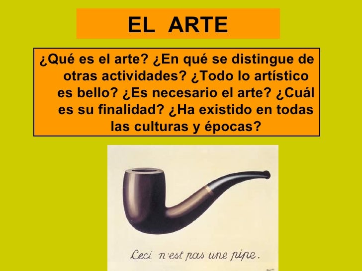 Qu Es El Arte Artes I 2012 Claeh