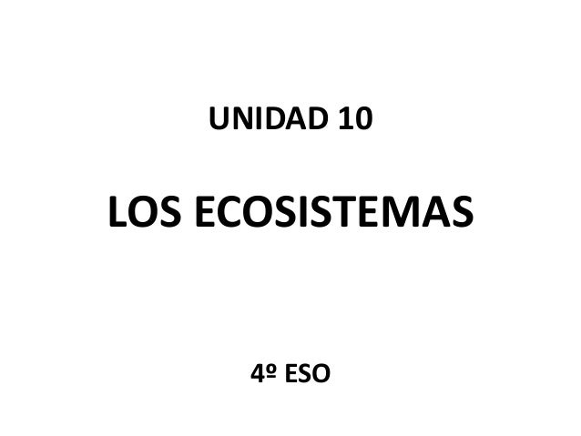 Unidad 10.5   los ciclos biogeoquímicos Slide 1