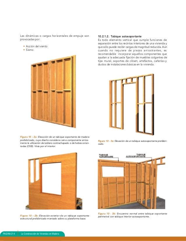 Unidad 10 entram verticalviviendas en madera biblioteca - Tabiques de madera ...