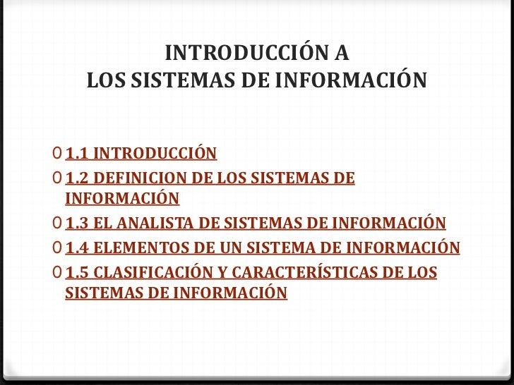 Unidad 1 Introduccion a los sistemas de informacion Slide 2