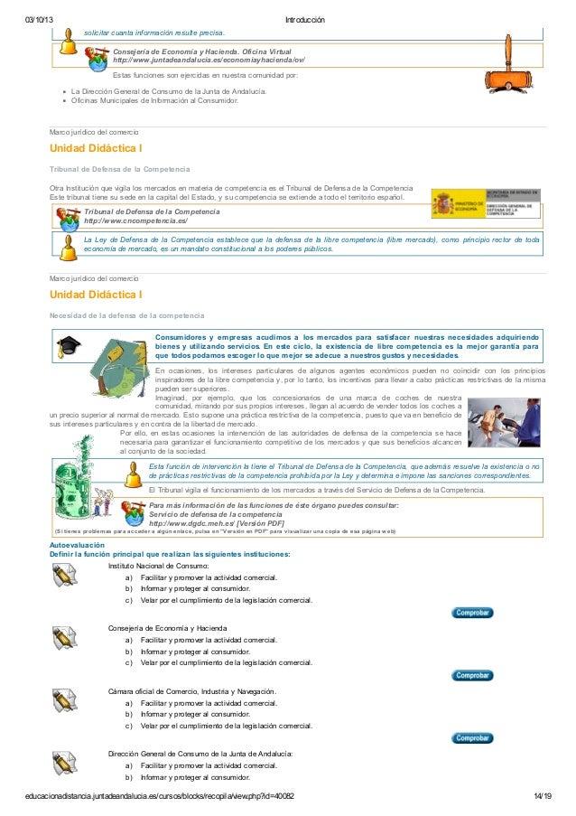 Gesti n de la compraventa tema 1 marco jur dico del for Oficina virtual junta de andalucia