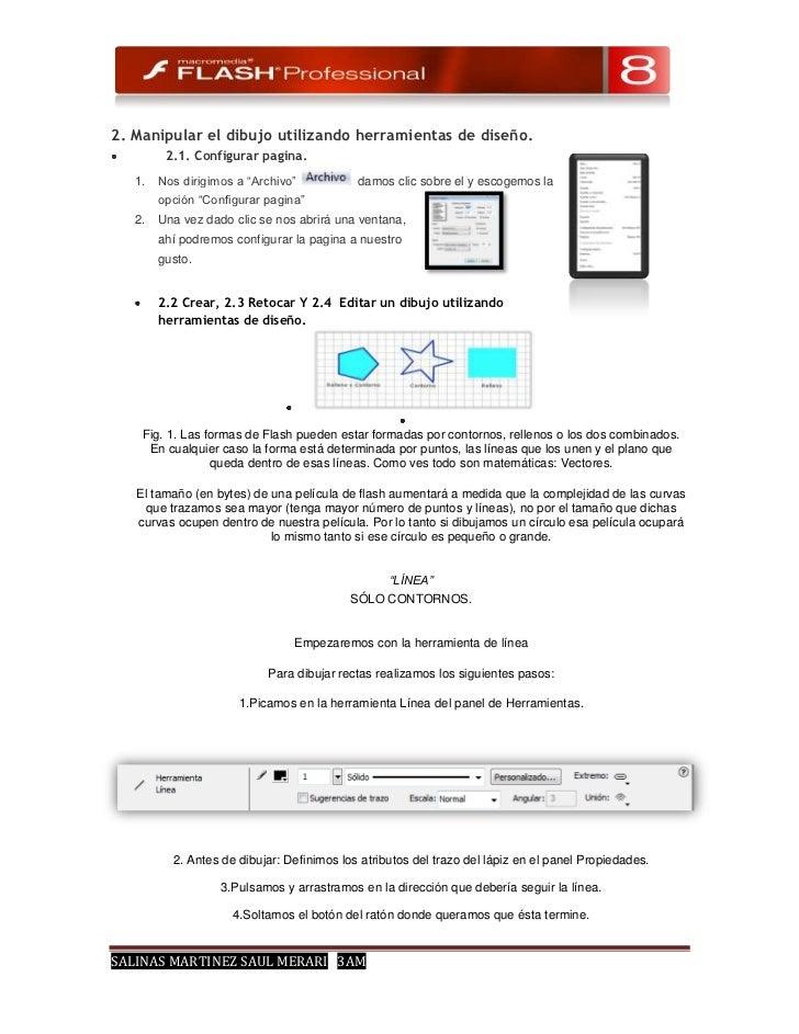 """2. Manipular el dibujo utilizando herramientas de diseño.         2.1. Configurar pagina.   1.   Nos dirigimos a """"Archivo""""..."""