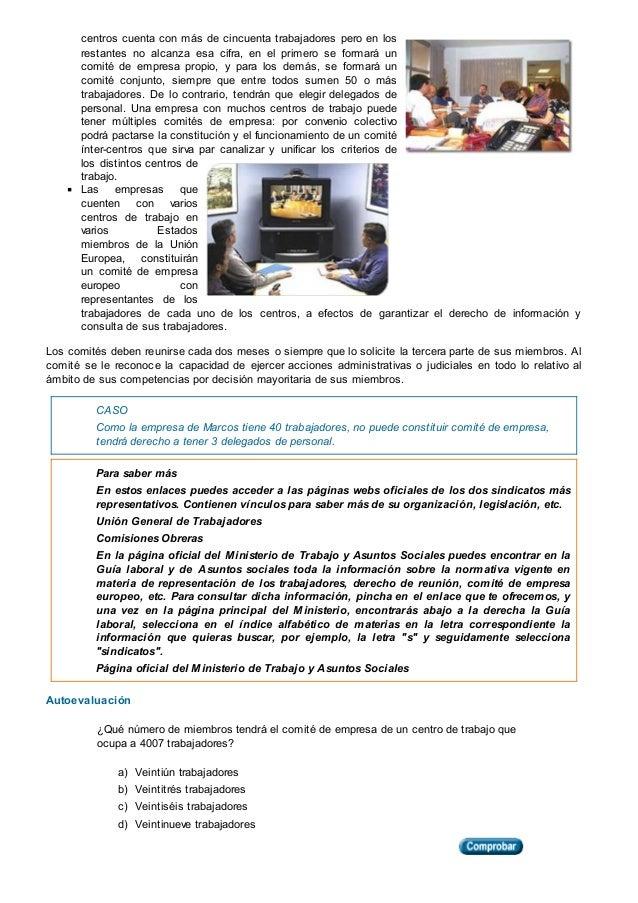 FORMACION Y ORIENTACION LABORAL - TEMA 2 LA REPRESENTACION Y LA NEGOC…