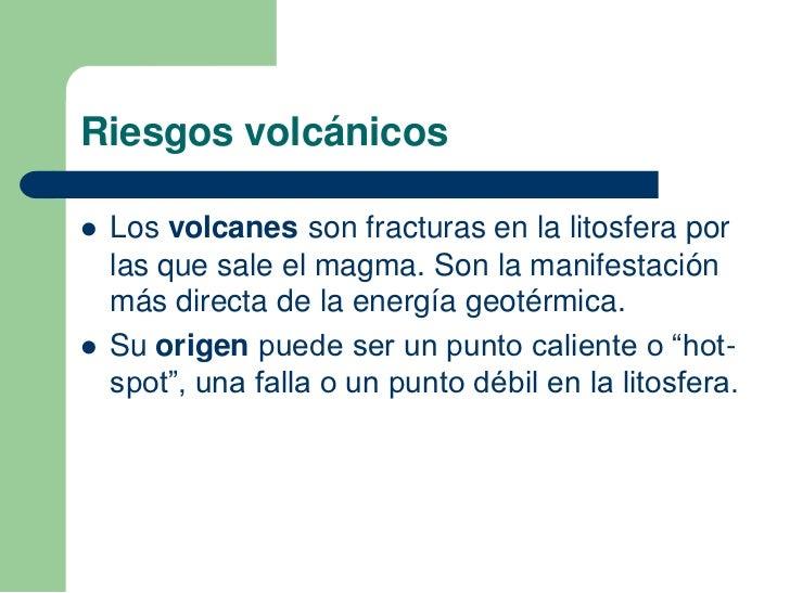 Unidad 2 riesgos naturales - En que consiste la energia geotermica ...